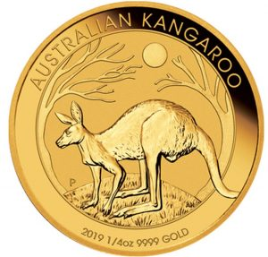 1/4 Unze Goldmünze Känguru Nugget 2019