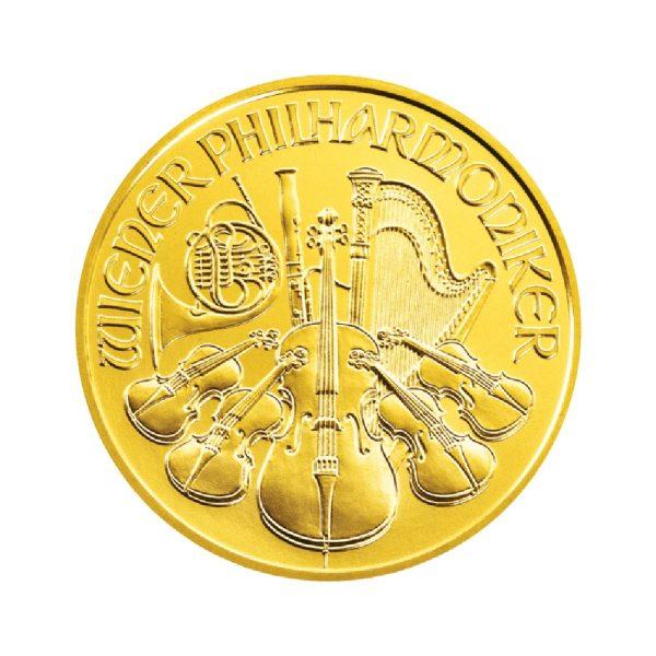 1/4 Unze Goldmünze Wiener Philharmoniker 2019