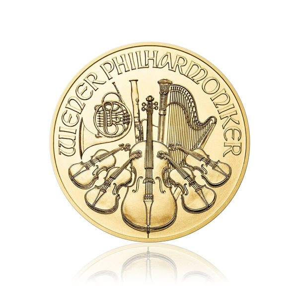 1/2 Unze Gold Philharmoniker 2018