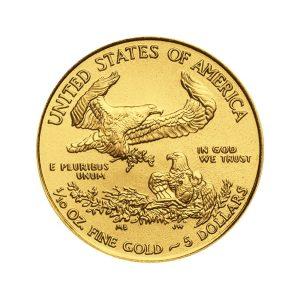 1/10 Unze Goldmünze American Eagle 2019