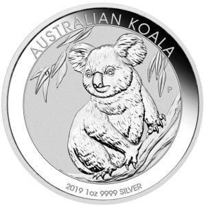 1oz Silber Koala 2019