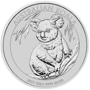 1kg Silber Koala 2019
