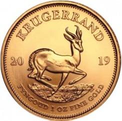 1 Unze Gold Krügerrand 2019