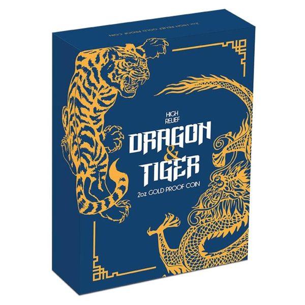 1 Unze Gold Drache & Tiger 2018 PP