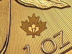 1 Unze Goldmünze Maple Leaf 2019 40 Jahre