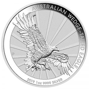 1 Unze Silber Wedge Taile Eagle 2019