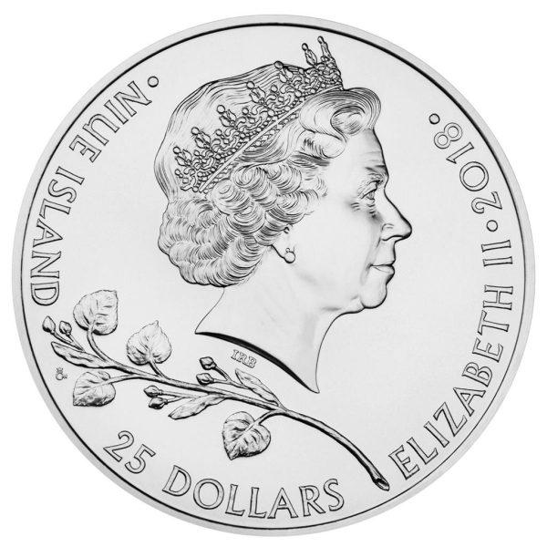 10 Unze Silbermünze Tschechischer Löwe 2018