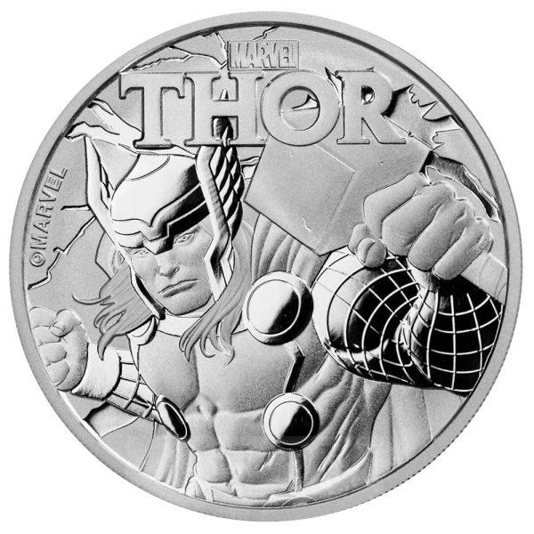 1 Unze Silber Tuvalu Thor Marvel Serie 2018