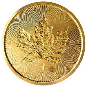 1 Unze Goldmünze Maple Leaf 2019 incuse