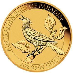 1 Unze Goldmünze Birds of Paradise 2019