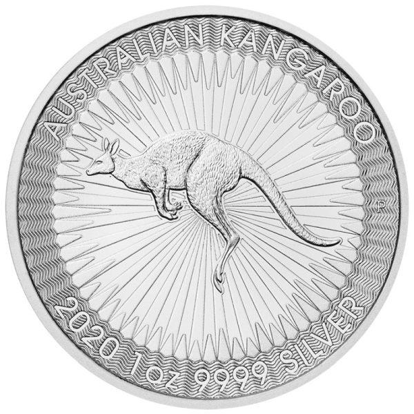 1 Unze Silber Känguru Nugget 2020 (Perth Mint)