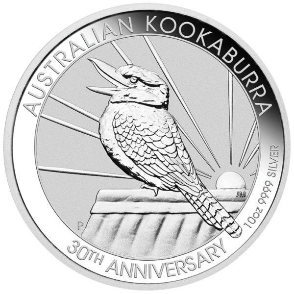 10 Unzen Silbermünze Kookaburra 2020