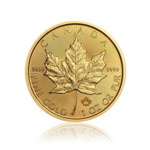 1 Unze Goldmünze Maple Leaf 2020
