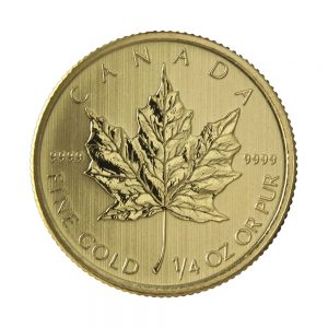 1/4 Unze Goldmünze Maple Leaf 2020