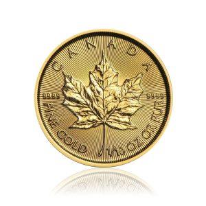 1/10 Unze Gold Maple Leaf 2020