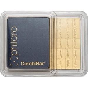 50 g Goldbarren Combibar philoro