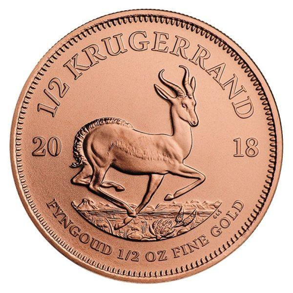1/2 Unze Gold Krügerrand 2019
