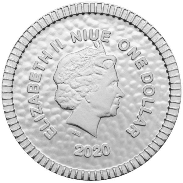 1/4 Unze Silbermünze Eule von Athen 2020