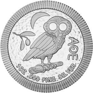 1 Unze Silbermünze Eule von Athen 2020