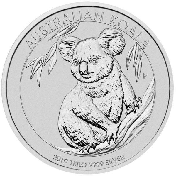1kg Silber Koala 2020