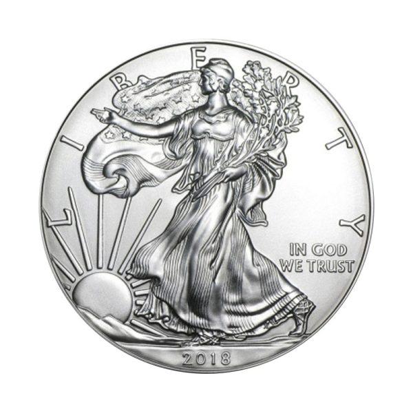 1 Unze Silber American Eagle 2020