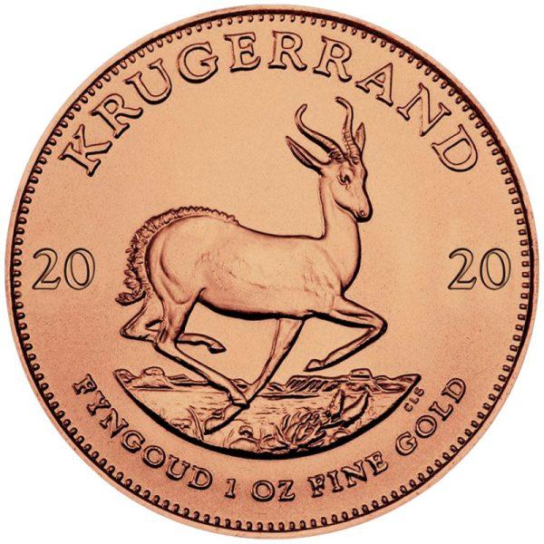 1 Unze Gold Krügerrand 2020