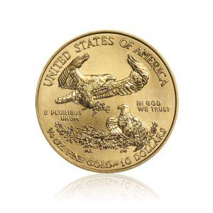 1/4 Unze Goldmünze American Eagle 2019