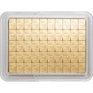 50 g Goldbarren Combibar HERAEUS